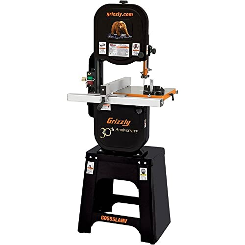 Grizzly G0555LANV 14-Inch Deluxe Bandsaw, Anniversary Edition