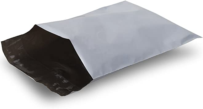 100-6x9 Fosmon Self-Seal Tear Proof Poly Mailer Shipping Envelopes 100 Pack