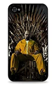 418 Walter White Game of Thrones - Black Hardshell Case for iPhone 6 4.7