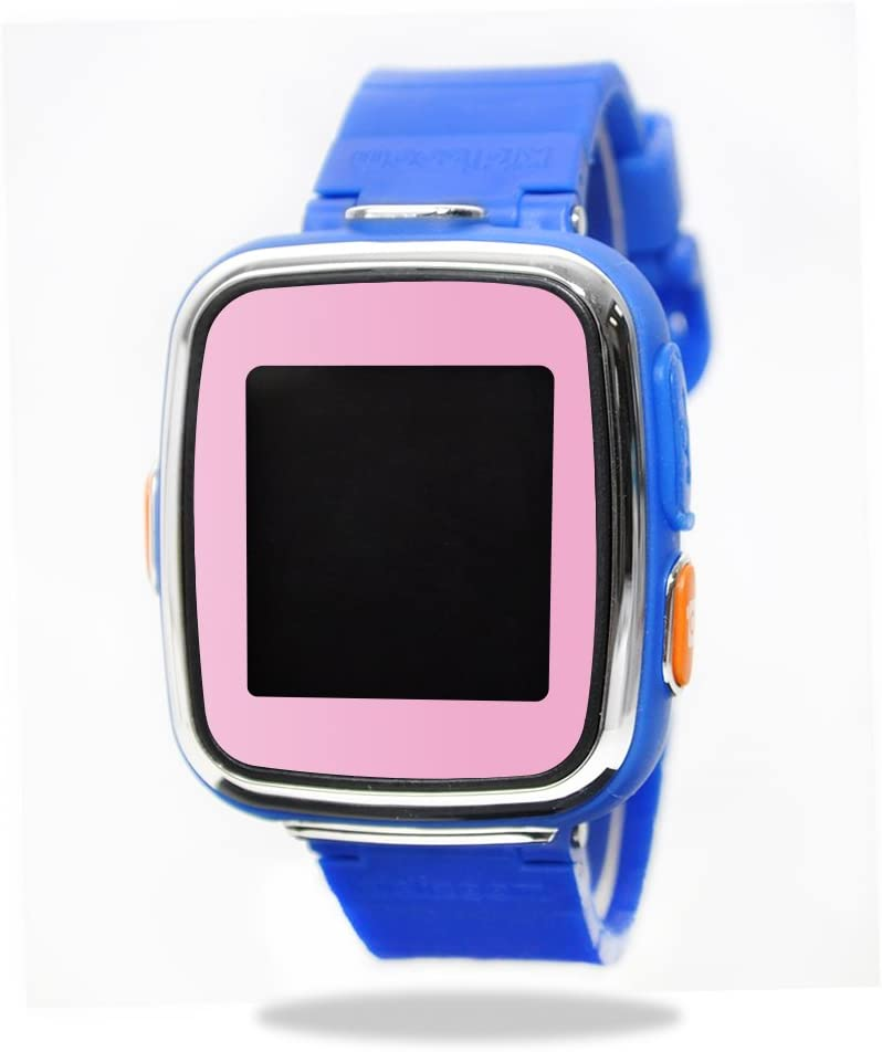 MightySkins Skin Compatible with VTech Kidizoom Smartwatch DX wrap Cover Sticker Skins Solid Pink