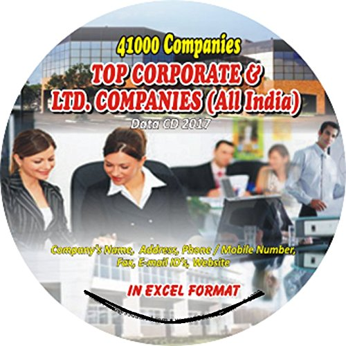 Top Data Form (Top Corporate & Limited Companies (All India-All Trades) Companies Data)