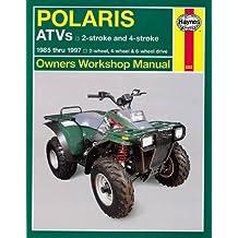 Polaris 250 to 500 cc ATVs: 2 stroke & 4 stroke 1985 Thru 1997