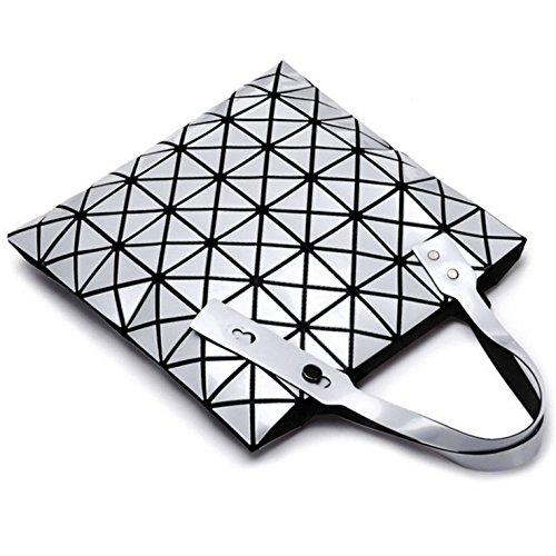 Sac Main Femme à Bandoulière Laser à Géométrique Pour Pour En Sac Silver Mosaïque XqwgPIYq