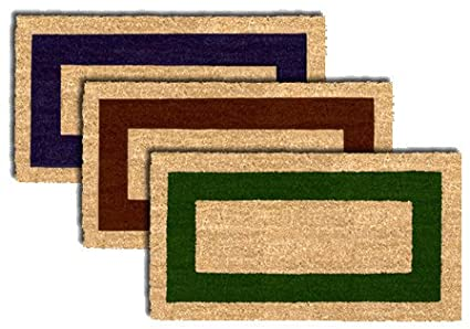 Fuß abtreter –  Fuß matte Kokos 60 x 100 Textiles Sar