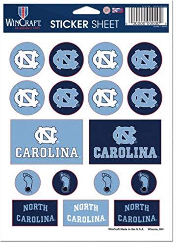 Wincraft NCAA North Carolina Tar Heels (UNC) 5'' x 7'' Sticker ()