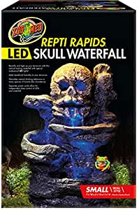 Zoo Med Repti Rapids Led Skull Waterfall Small Amazon Ca