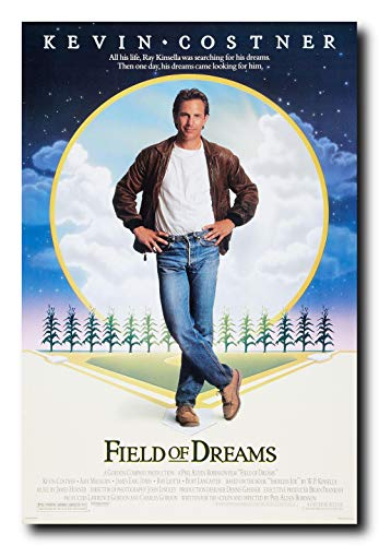 Mile High Media Field of Dreams Movie Poster 24x36 Inch Wall Art Portrait Print - Ready to Frame
