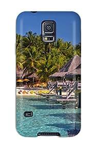 Rose Plumley Case Cover For Galaxy S5 - Retailer Packaging Bora Bora Protective Case