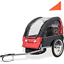 Merax 2-in-1 Collapsible Single Child Bicycle Trailer