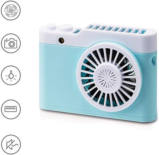ORPERSIST Ventilador USB. Cámara Mini Ventilador Silencioso Cuello ...