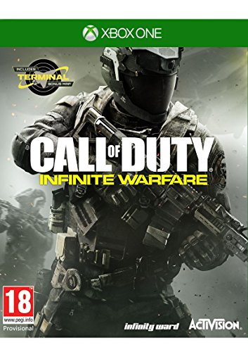 Call of Duty Infinite Warfare Xbox One with Zombies in Space and Terminal Map (Call Of Duty Advanced Warfare Xbox Bundle)