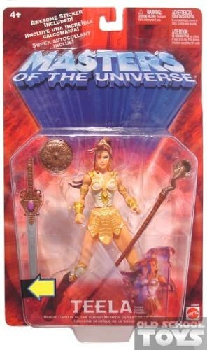 He-man Masters of the Universe Teela Action Figure