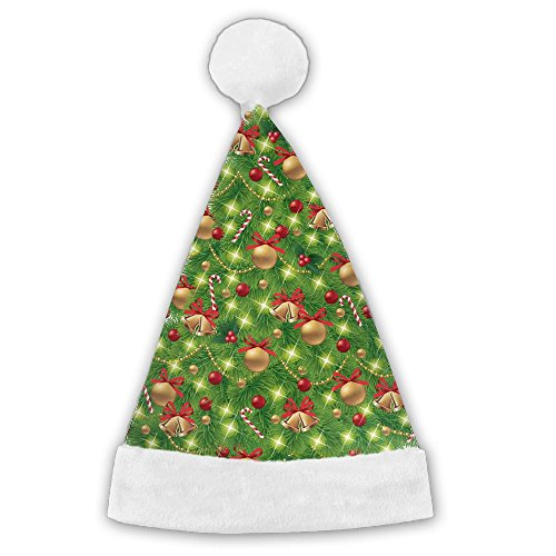 Bdna Velvet Santa Claus Hat Christmas Gift Tree Merry Christmas Hats Adults Children Costume XMas Decor Party Supplies - Photo Walgreens Card Gift