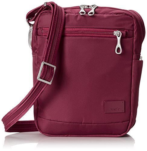 Pacsafe Citysafe CS75 Cross Body Housse Noir Cranberry (Rouge)