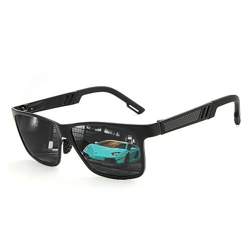 aa752584ce6 Polarized Sunglasses For Men Women Wayfarer-Oversized Vogue UV  Driving(black)