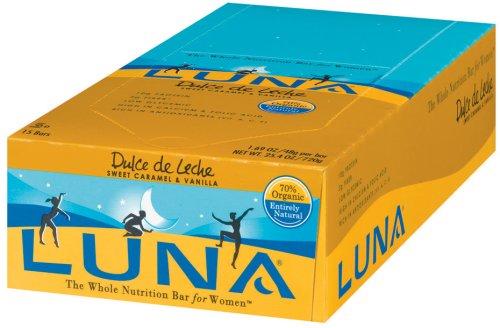 Amazon.com: Luna Bars, Dulce de Leche, 1.69-Ounce Bars (Pack of 15): Health & Personal Care
