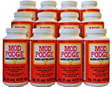 MOD PODGE All-In-One Gloss Glue, Sealer & Finish (Set of 12), 16 oz