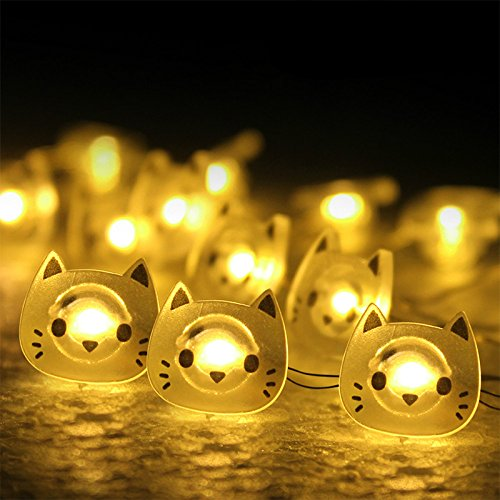 Cat String Patio Lights in US - 8