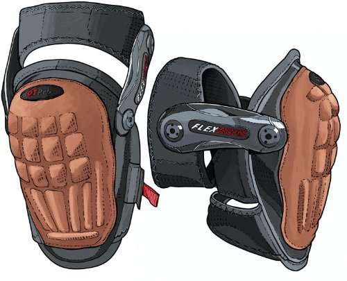Hinged Work Knee Pads (Hinged Knee Pads)