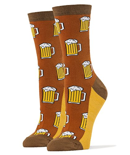 Womens Luxury Combed Cotton Socks Funny product image