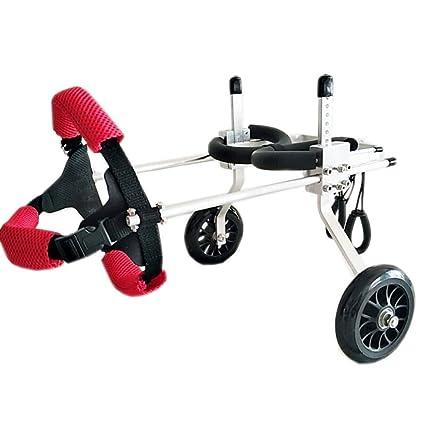 Scooter De 2 Ruedas Con Ruedas Ajustable Para Perros Con ...