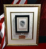 "JFK Funeral CLOTH, JOHN F. KENNEDY Mass Memorial CARD, Jacqueline Kennedy's ""Thank You"" card, Talking Frame, DVD, COA, Artifacts + much more!"