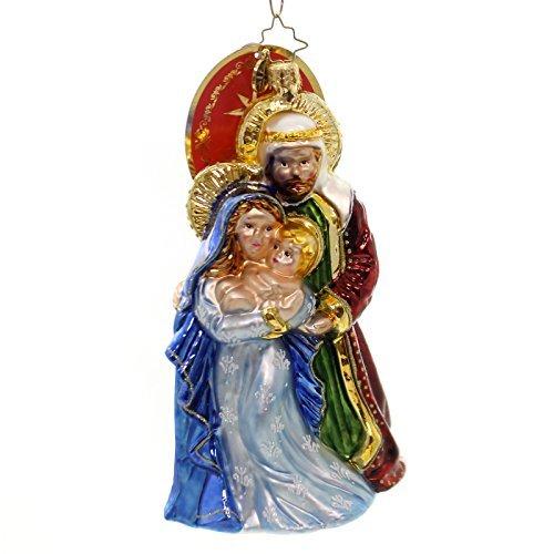 Christopher Radko Blessed Beginning Glass Christmas Ornament by Christopher Radko