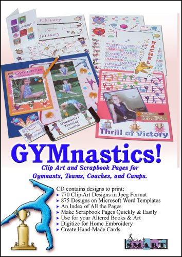 (ScrapSMART - GYMnastics Software Clip Art and Scrapbook Pages for Gymnasts, Teams, Coaches, and Camps for Mac [Download])