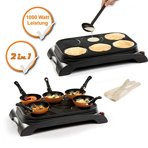 Tefal Py559312 Crep Party Colormania Crepes And Pancakes