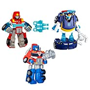 Transformers Rescue Bots Action Figure 3-Pack Bundle (Amazon Exclusive)