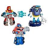 Transformers Rescue Bots Action Figure 3-Pack Bundle (Amazon Exclusive)