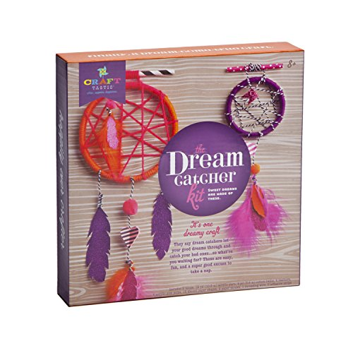Craft-tastic Dream Catcher Kit - Craft Kit Makes Two Dream (Fun Friends Die Cut)