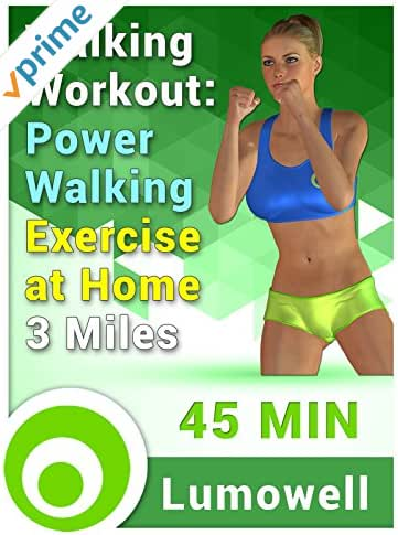 Walking Workout: Power Walking Exercise at Home - 3 Miles