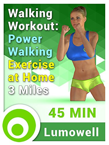 Exercise Products : Walking Workout: Power Walking Exercise at Home - 3 Miles