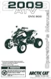 2258-287 2009 Arctic Cat 300 DVX ATV Owners Manual