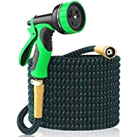 [New 2018] Expandable Garden Hose 50Ft Extra Strong -...