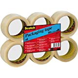 Scotch CT5066F6 Packing Tape, 50 mm x 66 m - Clear, 6 Rolls