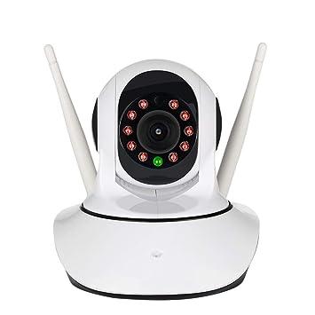 MCCW Cámara de Seguridad 1080P, cámara Bullet WiFi Impermeable IP66, Sistema de Webcam inalámbrico de visión Nocturna, detección dinámica, Conveniente para ...