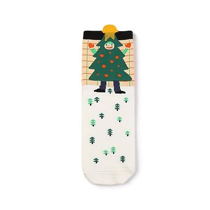 Calcetines de Navidad de algodón Pur para Navidad calcetines de Navidad de algodón para Navidad Sapin