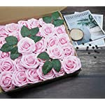 D-Seven-Artificial-Flowers-30PCS-Real-Looking-Fake-Roses-with-Stem-for-DIY-Wedding-Bouquets-Centerpieces-Party-Baby-Shower-Home-Decorations-Light-Pink