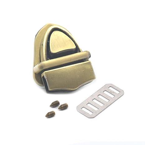 040d48a8e9fc Amazon.com: Fujiyuan 1 pcs Closure Catch Locks Tuck for Leather Bags ...