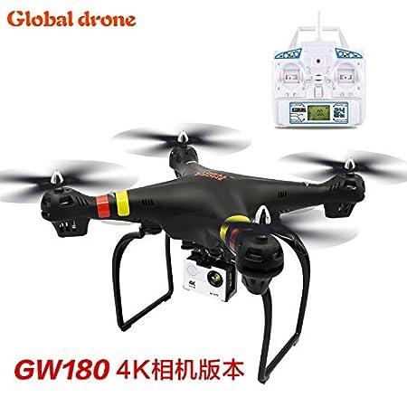 gw180 RC quadrocpter Drone con 4 K WiFi HD Camera mando a ...