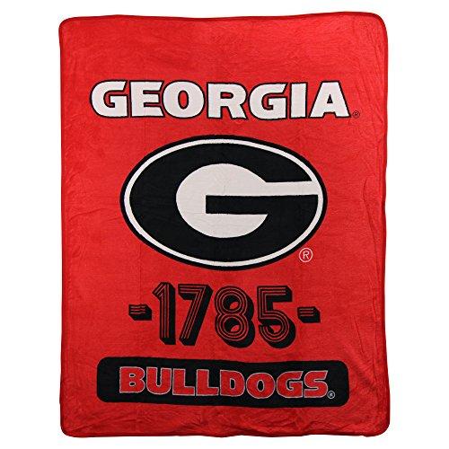Georgia Bulldogs Fleece Throw - 6