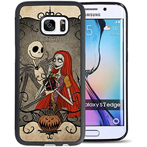 The Nightmare Before Christmas Samsung Galaxy S7 Edge Case, Onelee [Never fade] The Nightmare Before Christmas Sales