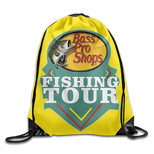 Price comparison product image Fishing Bass Pro Shops Unisex Gym Bag Drawstring Backpack/Rucksack