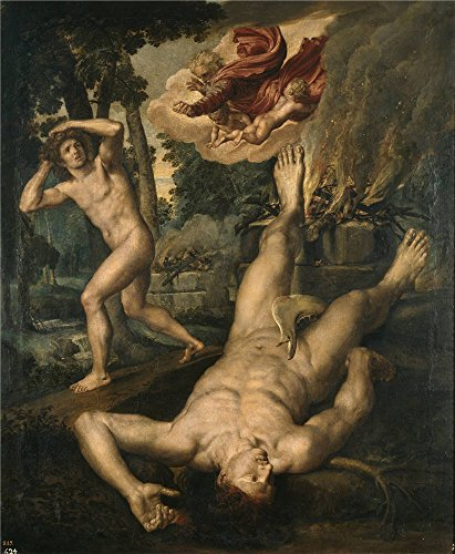 Oil Painting 'Coxie Michiel I La Muerte De Abel After 1539', 18 x 22 inch / 46 x 56 cm , on High Definition HD canvas prints is for Gifts And Gym, Home Office And Powder Room Decoration