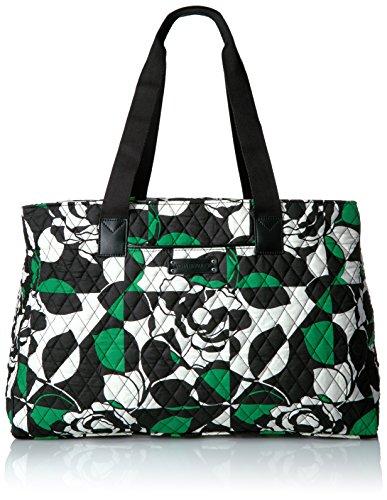 Triple Travel Bag (Vera Bradley Women's Triple Compartment Travel Bag, Imperial Rose)