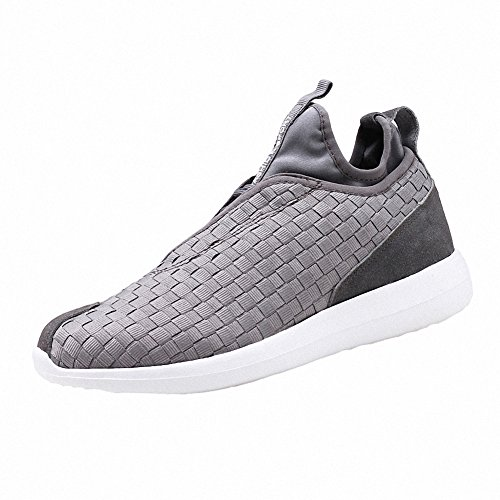 Ben Sports zapatos para correr Calzado deportivo de exterior de tenis para hombre gris