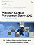img - for Microsoft Content Management Server 2002: A Complete Guide book / textbook / text book