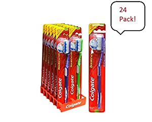 Amazon Com Colgate Double Action Toothbrush 24 Pack